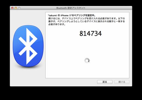 Bluetooth 設定アシスタント 4